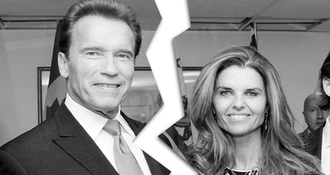 Arnold Schwarzenegger and Maria Shriver Divorce
