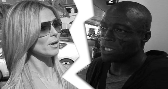 Heidi Klum and Seal divorce