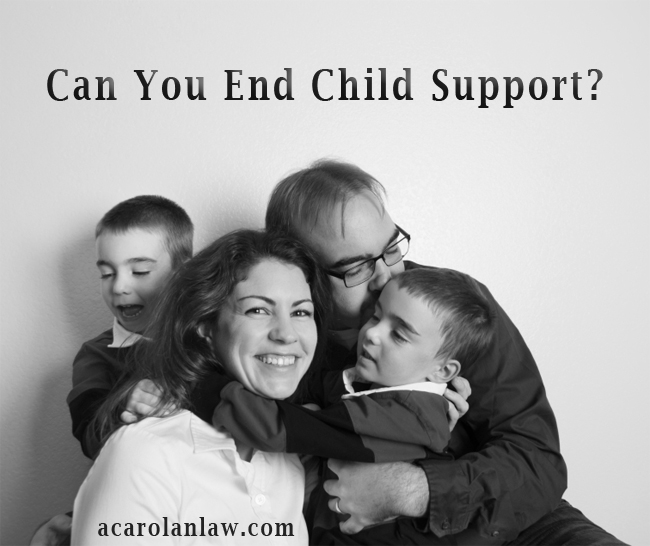 how to stop child support