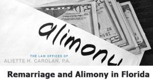 Alimony in Florida