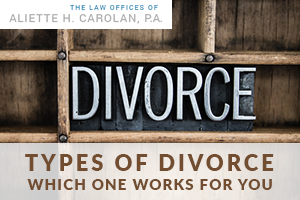 Types of Divorce